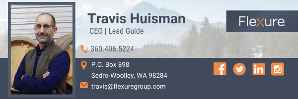 Travis Huisman, CEO and Lead Guide at Flexure